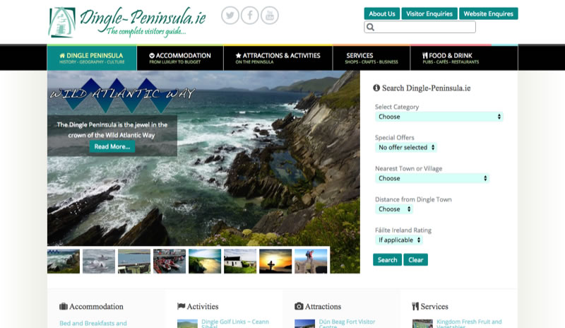 Dingle Peninsula Official Tourism Website