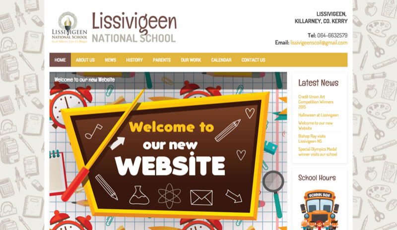 School Website Design Ireland