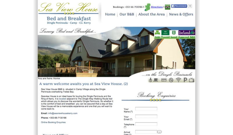Sea View House - Bed and Breakfast