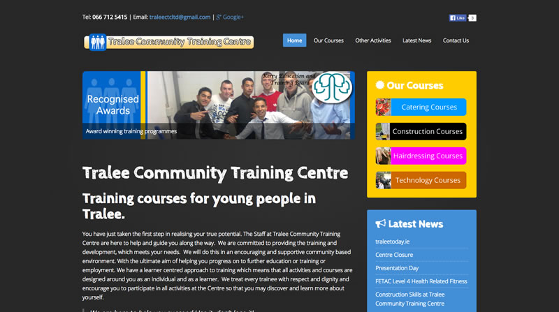 Mark Charlton - www.traleecommunitytraining.ie